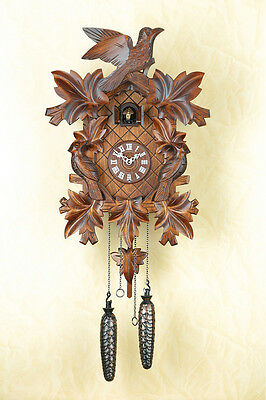 Quartz Cuckoo Clock, Black Forest, Clock,Cuckoo Made in Germany 352q