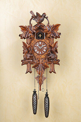 Gorgeous Quartz Cuckoo Clock,Cuckoo Clock, Black Forest, Wall Clock 363q