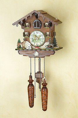 Cuckoo clock, Cuckoo Clock from the Black  forest, Night-time shut-off 432/10Q