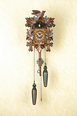 Cuckoo Clock with 12 Melodies, Cuckoo Clock, Black Forest, Made in Germany 412qm