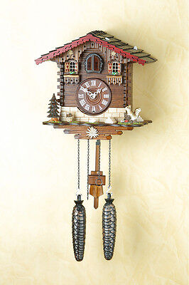 Beautiful Cuckoo Clock,Cuckoo Clock, Wall Black Forest, Made in Germany 437q