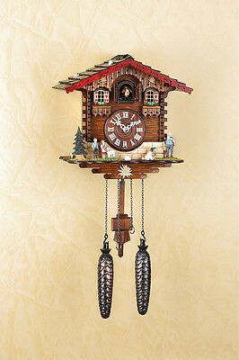 Cuckoo Clock,Wall Clock, Heidi,Black Forest, Cuckoo Clock, Made in Germany 446Q