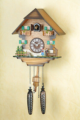 Cuckoo Clock, Wall Black forest, Clock Made in Germany 401Q