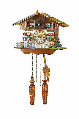 Cuckoo Clock, Original Trenkle Black Forest Quartz Movement Quality 439q Hzzg