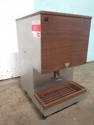 """""""LERN LD-45"""" COMMERCIAL H.D. (NSF) 45lbs. COUNTER TOP ICE  DISPENSER MACHINE"""