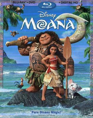 Moana Used - Very Good Blu-Ray/dvd