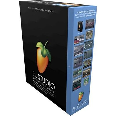 FL Studio 20 Signature Download Image Line DAW Software Windows *New*