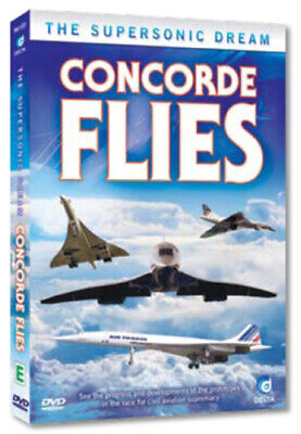 Concorde Flies DVD (2010) cert E Value Guaranteed from eBay's biggest seller!