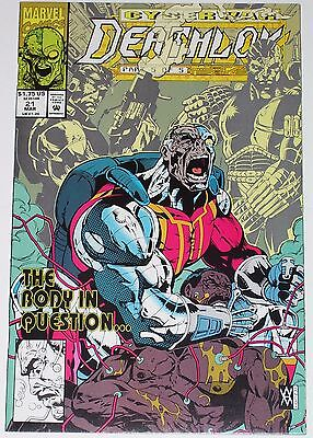 Deathlok #21 from March 1993 VF+ to NM-