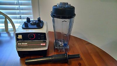 Vitamix Drink Machine 2 Step Timer Blender Model VM01 00A