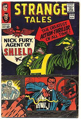 STRANGE TALES #135 VG, 1st Nick Fury, Agent of SHIELD! Kirby, Marvel Comics 1965