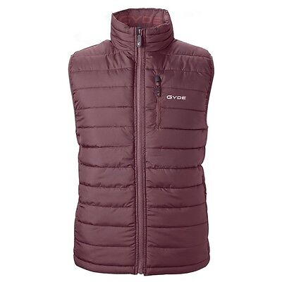 $250 Gyde Battery Powered By Gerbing Heated Electric Calor Puffer Vest Purple