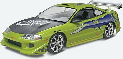 Fast & Furious Mitsubishi Eclipse 1/25 scale skill 2 Revell model kit#4384