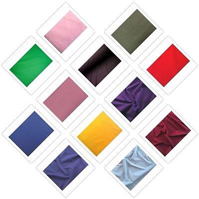 "60"" Inch Cotton Polyester Broadcloth Quilting Sheets Fabric By The Yard"