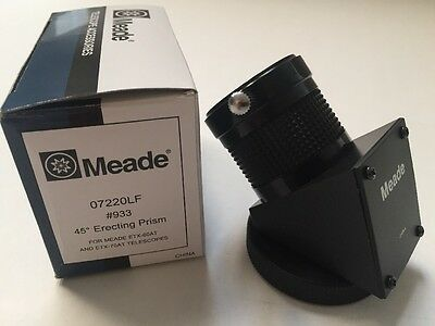 "Meade 933 45-Degree 1.25"" Erecting Prism For ETX-60AT ETX-70AT 07220LF Telescope"