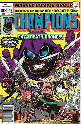 The Champions Comic Book #15, Marvel Comics 1977 VERY FINE/NEAR MINT