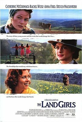 The Land Girls Original Rolled Movie Poster 1998 #C-31