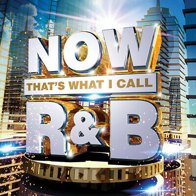 Various Artists : Now That's What I Call R&B CD 3 discs (2017) Amazing Value