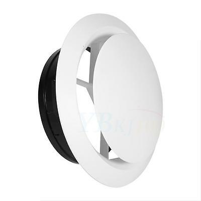 75-200mm Adjustable Ceiling Air Extract Valve Round Diffuser Duct Cover Air Vent