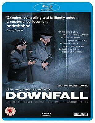 Downfall [Blu-ray Movie 2008, German, Region Free, 1-Disc, WWII World War 2] NEW