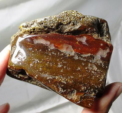 Large 120 gram piece of Baltic amber  - fossil