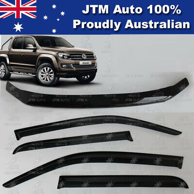 VOLKSWAGEN VW Amarok Bonnet Protector Guard and Weather Shields 2010-2017