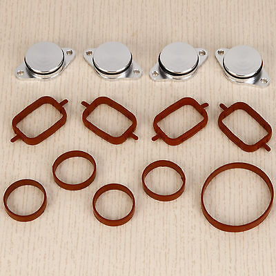 4x 33mm Swirl Flap Flaps Replacement Removal Blanks Gaskets for BMW M57 M47