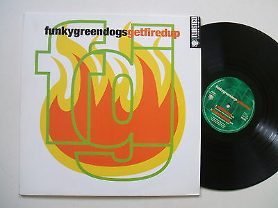 Funkygreendogs Getfiredup Orig Twisted United Kingdom Deep House 2 Lp 1996