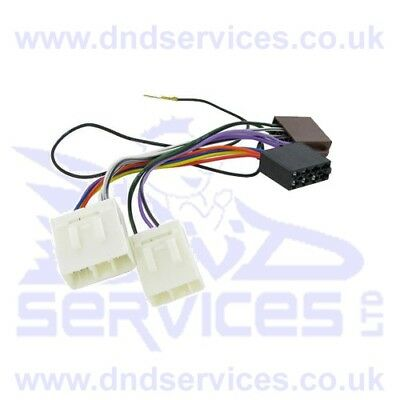 Autoleads PC2-10-4 / PX681 Mazda to ISO Harness Adaptor