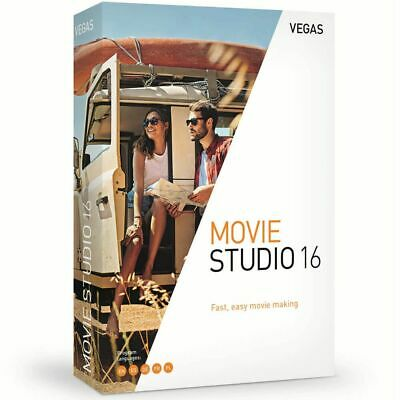 VEGAS Movie Studio 16 Creative Video Editing Software Download Sony Magix *New*