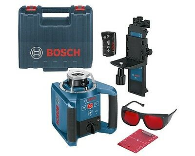 Bosch GRL300HV Rotary Laser Level Reconditioned with one Year Warranty