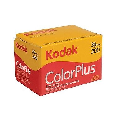100 Rolls Kodak Color Plus 200 35mm Negative Film ColorPlus 135-36 Exp: 8/2020