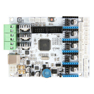 White 3D Printer Contrller Board For GT2560 ATmega2560