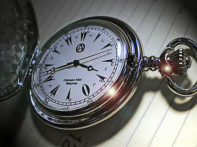 Turkish Empire, Ottoman Empire, Historic Scripted Dial, Gents Pocket Watch.