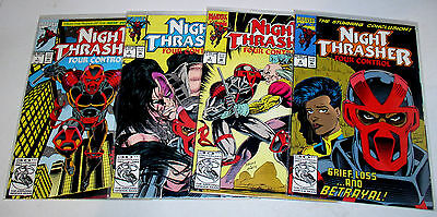 Night Thrasher 1 2 3 4 Set   (From The New Warriors)