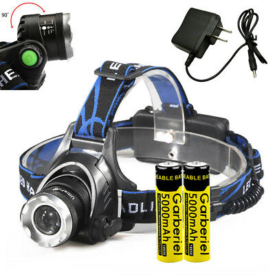 Ultrafire 90000LM T6 LED Super Bright Rechargeable HeadLamp Headlight Head Torch