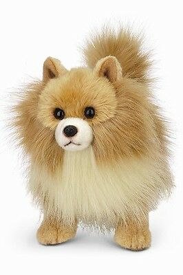 "New BEARINGTON Plush Toy POMERANIAN POMI Stuffed Animal PUPPY DOG 13"" Soft Doll"