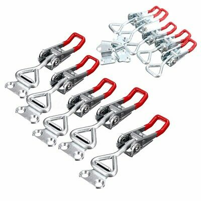 5 Pcs 100KG/220lbs Adjustable Quick Holding Capacity Bolt Hand Tool Toggle Clamp