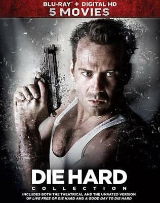 Die Hard: 5-Movie Collection New Blu-Ray Disc