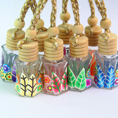 Diffuser Gift Printed Car Freshener Air Hanging Fragrance Perfume Bottle Fitted
