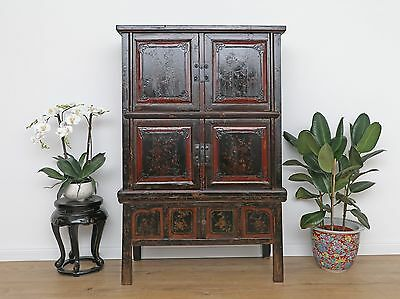 Wedding Cabinet Wardrobe File Cabinet Chinese Solid Wood China Asia DJ1876