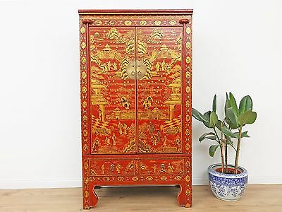 Wedding Cabinet Wardrobe File Cabinet Chinese Solid Wood China Asia Antique Y233