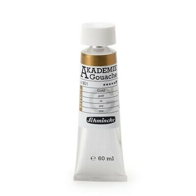 (8,08€/100ml) AKADEMIE Gouache Gold 60ml