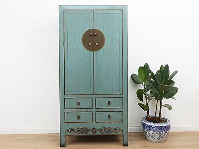 Wedding Cabinet Wardrobe File Cabinet Chinese Solid Wood China Asia Antique Y192