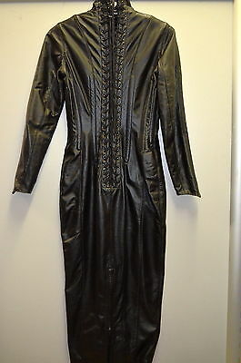North Bound Leather Dress gr M Style 6181 made in Canada 100% Leder Pos 70