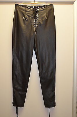 North Bound Leather 100% Leder Hose Pants Nr LLP2  Gr XL Länge 113 cm Pos 110