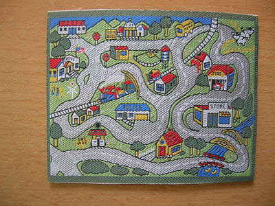 Spielteppich Straßenteppich Children´s Play Mat Dollhouse Puppenstube 1:12 2288