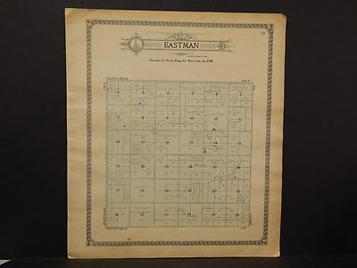 North Dakota, Foster County Map, c.1910, Eastman Township, K9#08