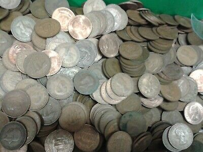 Bulk Job Lots English Penny / Half Penny Coins + Decimal From 1860 To 1982