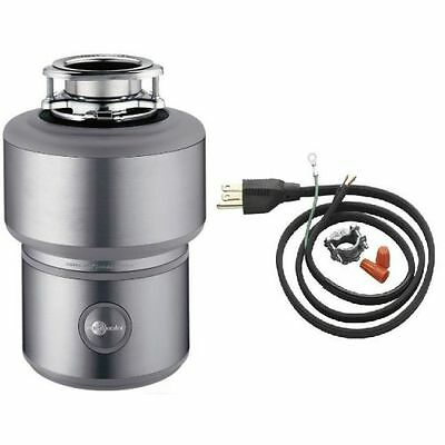 InSinkErator Excel Power Cord Included Evolution 1 HP Garbage Disposal